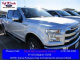 2016 Ingot Silver Ford F150 Lariat SuperCrew 4x4 #111066054