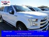 2016 White Platinum Ford F150 Lariat SuperCrew 4x4 #111066053