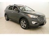 Hampton Green Pearl Hyundai Santa Fe in 2013
