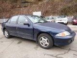2002 Indigo Blue Metallic Chevrolet Cavalier Sedan #111066541