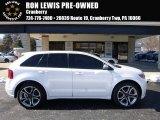 2014 White Platinum Ford Edge Sport #111066194
