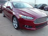 2016 Ruby Red Metallic Ford Fusion S #111066082