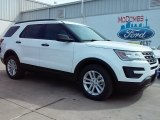 2016 Oxford White Ford Explorer FWD #111066079