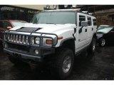 2003 White Hummer H2 SUV #111065917