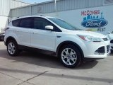 2016 White Platinum Metallic Ford Escape Titanium #111066076