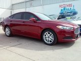 2016 Ruby Red Metallic Ford Fusion SE #111066069