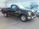 2016 Green Gem Ford F150 XL Regular Cab #111066063