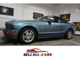 2006 Windveil Blue Metallic Ford Mustang GT Premium Convertible #111065899