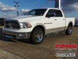 2011 Bright White Dodge Ram 1500 Laramie Crew Cab 4x4 #111066312