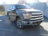 2016 Magnetic Ford F150 Lariat SuperCrew 4x4 #111066397