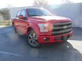 2016 Race Red Ford F150 Lariat SuperCrew #111066395