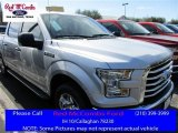 2016 Ingot Silver Ford F150 XLT SuperCrew #111105743