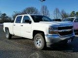 2016 Summit White Chevrolet Silverado 1500 WT Crew Cab #111105688