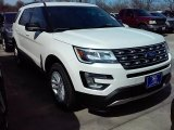 2016 White Platinum Metallic Tri-Coat Ford Explorer XLT #111105770