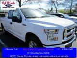 2016 Oxford White Ford F150 XLT SuperCab #111105734