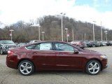 2016 Bronze Fire Metallic Ford Fusion SE AWD #111105799