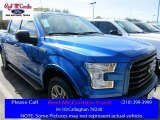 2016 Blue Flame Ford F150 XLT SuperCrew #111105732