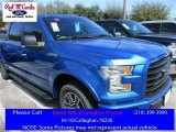 2016 Blue Flame Ford F150 XLT SuperCrew #111105729