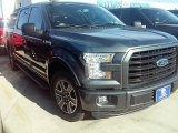 2016 Magnetic Ford F150 XLT SuperCrew #111105763