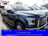 2016 Blue Jeans Ford F150 XLT SuperCrew #111105751