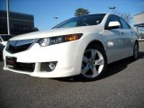 2009 Premium White Pearl Acura TSX Sedan #11092953