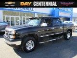 2006 Black Chevrolet Silverado 1500 LT Crew Cab 4x4 #111130785