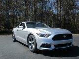 2016 Ingot Silver Metallic Ford Mustang V6 Coupe #111130996