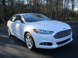 2016 White Platinum Tri-Coat Metallic Ford Fusion Hybrid SE #111130993