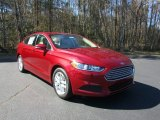 2016 Ruby Red Metallic Ford Fusion SE #111130991