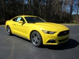2016 Triple Yellow Tricoat Ford Mustang EcoBoost Coupe #111130990