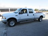 2004 Oxford White Ford F250 Super Duty XLT Crew Cab 4x4 #111131038