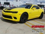 2014 Bright Yellow Chevrolet Camaro SS Coupe #111153881