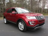 2016 Ruby Red Metallic Tri-Coat Ford Explorer Limited #111154063