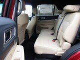 2016 Ford Explorer Limited Rear Seat