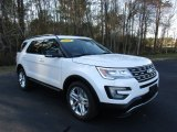 2016 White Platinum Metallic Tri-Coat Ford Explorer XLT #111154062
