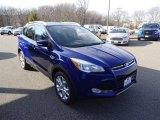 2016 Deep Impact Blue Metallic Ford Escape Titanium 4WD #111154112