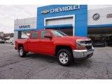 2016 Red Hot Chevrolet Silverado 1500 LT Crew Cab 4x4 #111153984