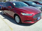 2016 Ruby Red Metallic Ford Fusion S #111153783