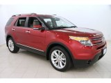 2013 Ruby Red Metallic Ford Explorer Limited 4WD #111154090