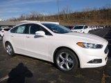 2016 White Platinum Tri-Coat Metallic Ford Fusion SE AWD #111153846