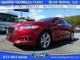 2016 Ruby Red Metallic Ford Fusion S #111153652