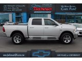 2012 Bright Silver Metallic Dodge Ram 1500 Big Horn Crew Cab 4x4 #111184146