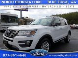 2016 Oxford White Ford Explorer XLT #111184068