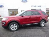 2016 Ruby Red Metallic Tri-Coat Ford Explorer XLT 4WD #111184489