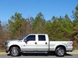 2015 Ingot Silver Ford F250 Super Duty XLT Crew Cab 4x4 #111213335