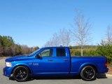 2014 Blue Streak Pearl Coat Ram 1500 Express Quad Cab #111213324