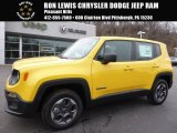 2016 Solar Yellow Jeep Renegade Sport 4x4 #111213696