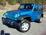 2016 Jeep Wrangler Hydro Blue Pearl