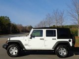 2016 Bright White Jeep Wrangler Unlimited Sport 4x4 #111213290