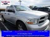 2012 Bright Silver Metallic Dodge Ram 1500 Express Quad Cab 4x4 #111213485